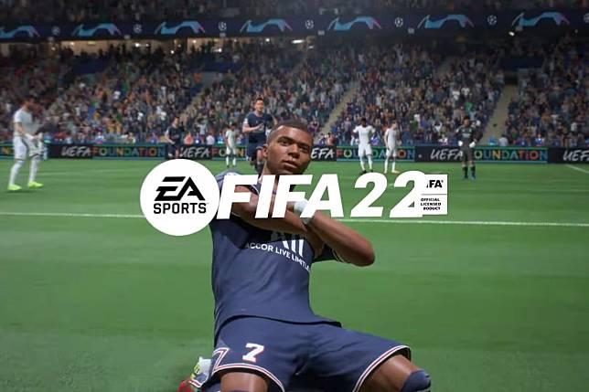 Game FIFA22 dari Electronic Arts.