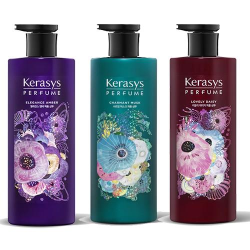 韓國最新版香水洗髮精香水成分 更持久可瑞絲明星商品香味更有層次跟濃厚紅瓶魅力雛菊味道=原先的浪漫粉紅 覺得聞起來很像LANVIN的MARRY ME紫瓶優雅琥珀=原先的英倫粉紫 -覺得聞起來很像CHLO