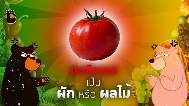 พืชชนิดนี้เป็นผักหรือผลไม้กันนะ?
