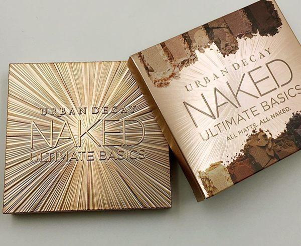 新款美國Urban Decay NAKED ULTIMATE BASICS 12色裸妝大地色眼影盤