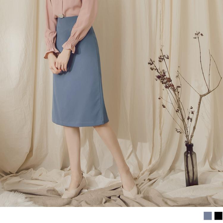 長度剛剛好的中長裙, 營造出氣質小女人味, 開衩的設計散發優雅魅力, 無論上班約會都合適~ ********************** 小提醒:有內裡 深色衣物建議單獨洗滌,以翻面手洗或放洗衣袋洗較
