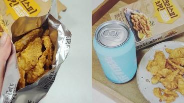 害怕吃炸雞怒弄髒手嗎?韓國雞肉乾燃燒你的炸雞魂