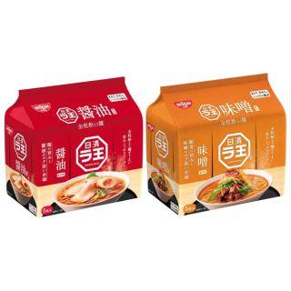日清 ラ王 醤油・味噌