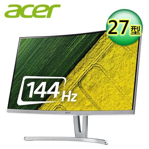 144Hz 27型VA曲面電競螢幕品名 / 規格:【Acer 宏碁】ED273 A 27型 VA曲面電競液晶螢幕特色:144Hz更新率│FreeSync技術特色:支援VGA / DVI / HDMI