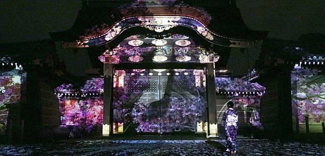 現代藝術結合了京都的古典美,為世界遺產二条城帶來全新面貌。(互聯網)