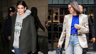 冬天只能穿厚重大衣?教妳 3 招「西裝外套」混搭撇步,多層次也能不顯胖!