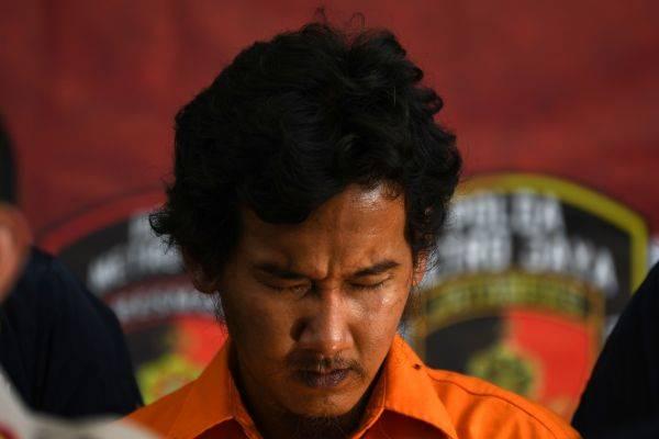 Tersangka pelaku penyiraman air keras di Jakarta Barat, VY