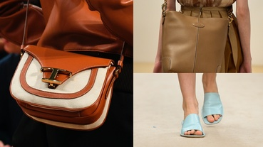 全新Timeless Bag系列、方頭低跟便鞋…TOD'S 2020春夏系列不能錯過的3款配件