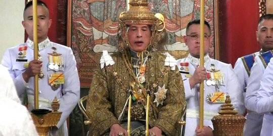 Raja Thailand Maha Vajiralongkorn. liputan6.com ©2020 Merdeka.com