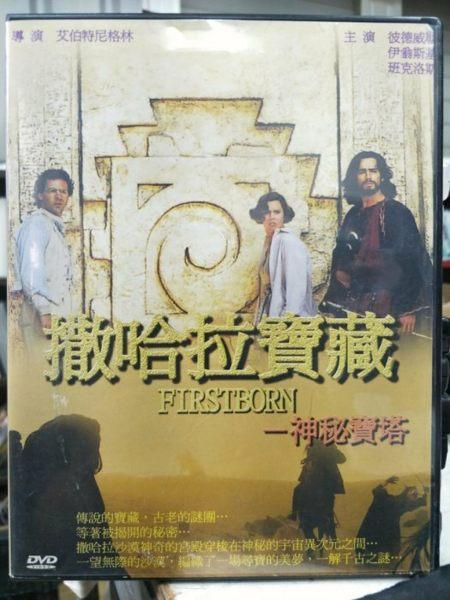 挖寶二手片-Y60-060-正版DVD-電影【撒哈拉寶藏:神秘寶塔】-彼得威勒 伊翁斯基 班克洛斯