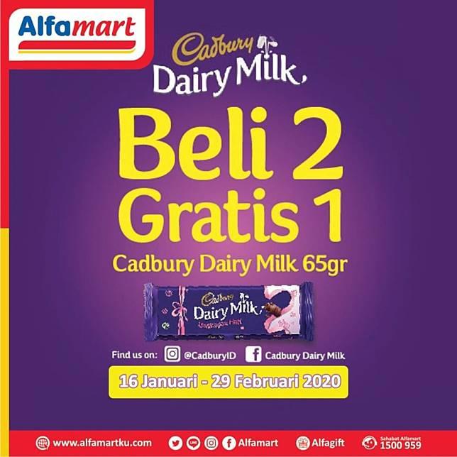 Alfamart Promo Beli 2 Cokelat Gratis 1