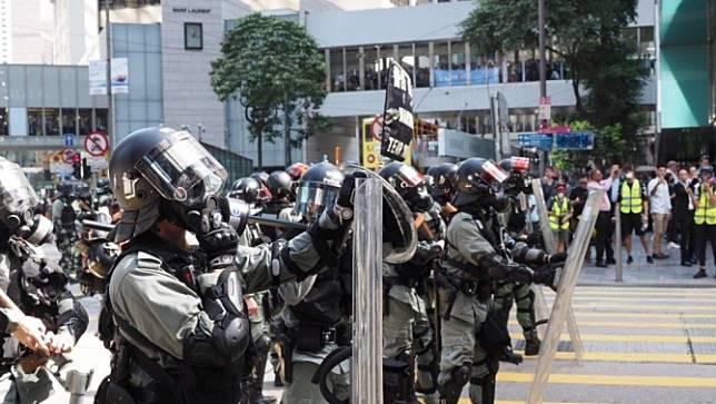 สหรัฐฯประณามตำรวจฮ่องกงใช้ความรุนแรงในการสลายการประท้วง