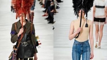 不是在開玩笑!包包不要用拿的 「戴」在頭上才是最高端時尚