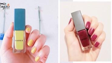 日本很快賣光光!美容雜誌大推薦來自「THREE」的指甲油,喜歡美甲的SIS怎可以沒有?!