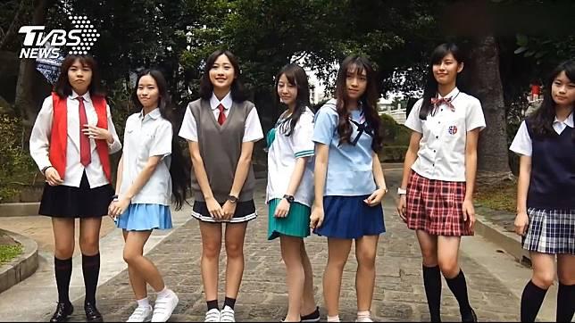 你心目中哪間高中的女生制服最好看呢?(示意圖/TVBS)