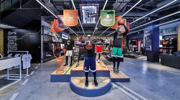 Nike打造HBL熱血應援店 展現「一生只有一次HBL」熱情純粹的籃球態度