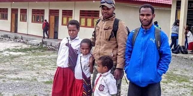 Ones ingin membangun sekolah di kampungnya. (dok pribadi Onesimus)  Artikel ini telah tayang di Kompas.com dengan judul