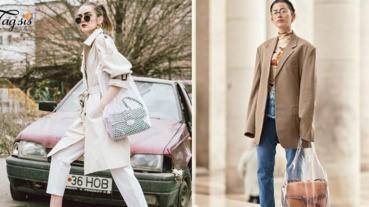 「2018袋中袋熱潮」絕對是時尚界必買單品~ 有人伸手去拿你的東西,也會通通看到!