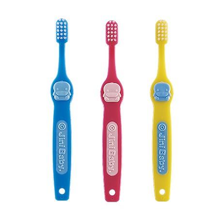 KUKU鴨 造型兒童牙刷3-6歲-3入