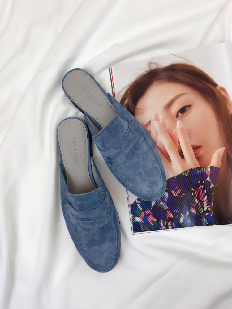 初夏必入 穿上就無法割捨!Lux Seven穆勒鞋半拖2019夏新款女涼鞋