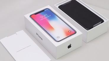 iPhone X 太空灰、銀色開箱,Geekbench 跑分破萬