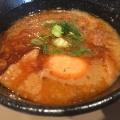 えび味玉 - 実際訪問したユーザーが直接撮影して投稿した千駄ケ谷つけ麺専門店つけ麺 五ノ神製作所の写真のメニュー情報