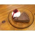 ビターショコラチーズケーキ - 実際訪問したユーザーが直接撮影して投稿した柿沼カフェヒキカフェの写真のメニュー情報