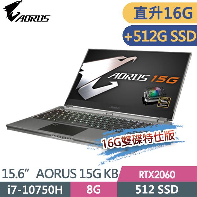 ★★記憶體升級16G,+512G SSD★★ ●處理器:Intel Core i7-10750H●顯示卡:電競級 GeForce RTX 2060 6G 顯卡●螢幕:15.6吋 FHD 240Hz高更