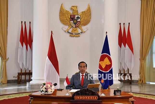 Presiden Joko Widodo mengatakan, kuliah daring telah menjadi normal baru, bahkan normal berikutnya.