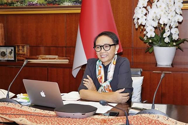 Foreign Affairs Minister Retno Marsudi (Photo:MoFA)