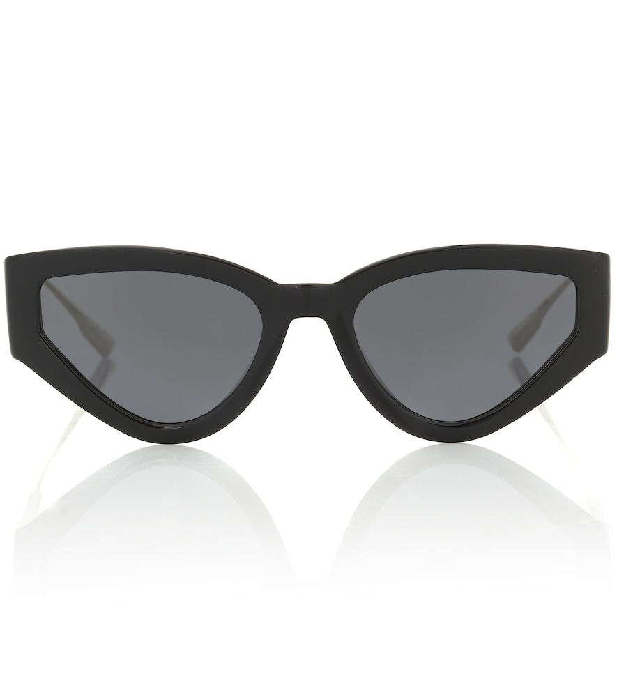 These black Cat Eye Style 1 sunglasses from Dior Sunglasses are a refined take on silhouettes of the