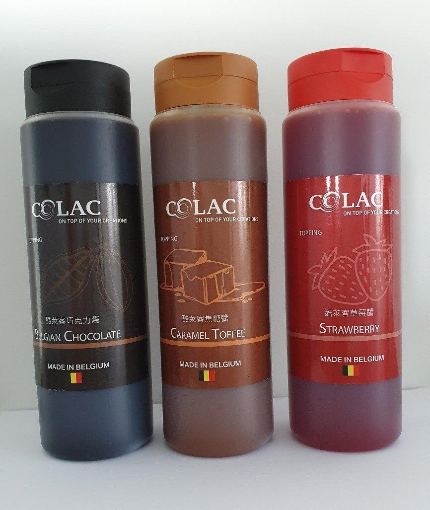 比利時 酷萊客淋醬 巧克力醬 焦糖醬 草莓醬 500ML 淋醬界的 LV 盤飾醬
