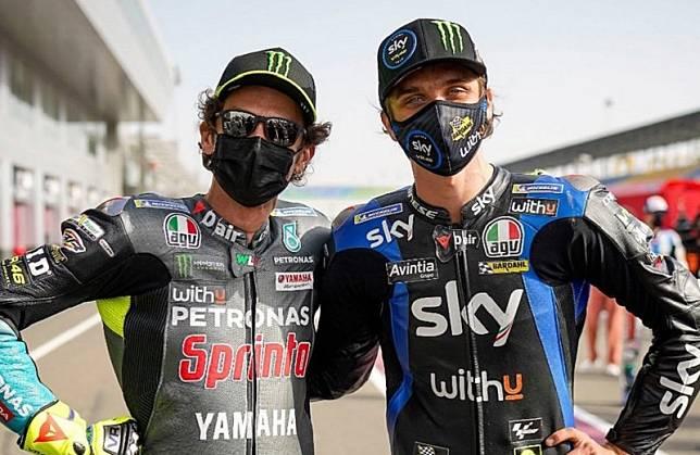 Luca Marini Ikut Bahagia Tim VR46 Bakal Gabung ke MotoGP 2022