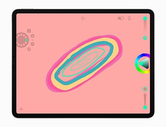 《Looom》專為iPadOS設計,是一款受音樂創作工具啟發而生的動畫創作試驗App,可循環播放手工繪製的定格動畫,並兼容Apple Pencil。(互聯網)