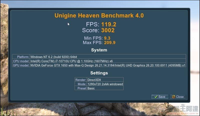 MSI Prestige 15 系統與效能測試 - 24
