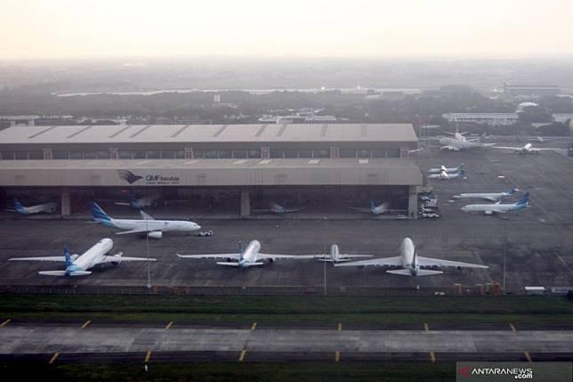 Sesuai aturan, tarif pesawat di Bandara Soekarno-Hatta