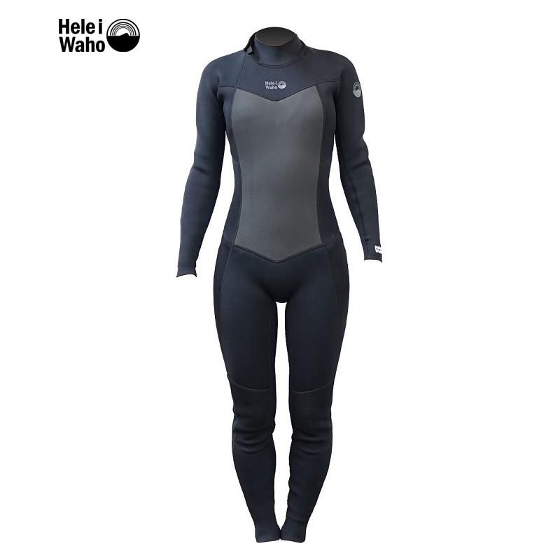 - 頸部乳膠設計 有效增加防水性及穿著舒適度 - 膝蓋彈力護膝 增加活動保護度 - 胸口 DURAflex 鯊魚皮 面料有效維持溫度 - 高品質平針車縫 - 獨立開發DURAflex 機能性面料 -