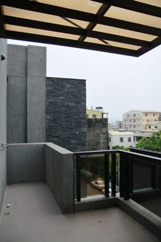 別墅的陽台