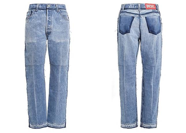 DIESEL RED TAG x READYMADE Loose Jeans(互聯網)