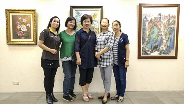 臺南市美術學會會員聯展   盡現奼紫嫣紅