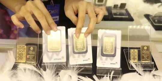Harga emas antam turun Rp 4.000 per gram. ©2019 Liputan6.com/Angga Yuniar