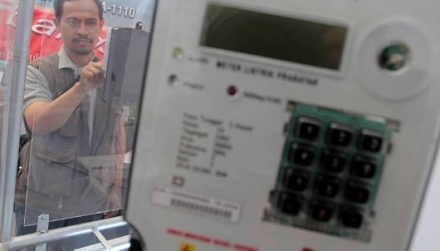 Meteran Listrik prabayar buatan PT INTI. TEMPO/Seto Wardhana
