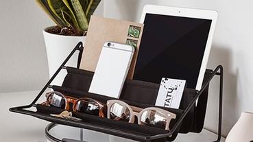 日系簡約「開放式收納」商品10選 黑白風超時尚!