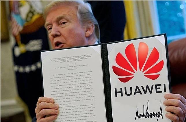 Trump dan Huawei