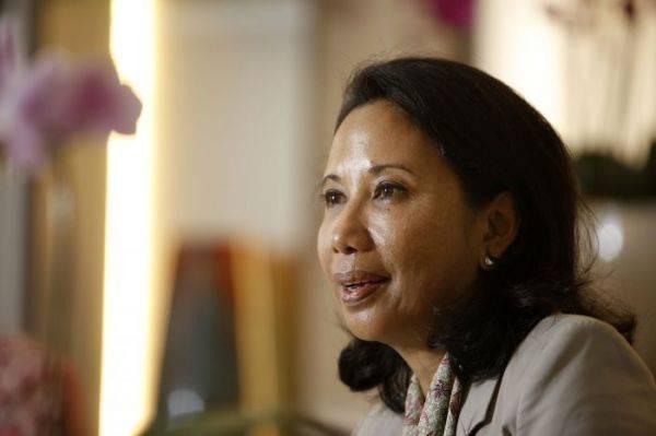 Menteri BUMN Rini M Soemarno
