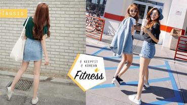 讓你從背部瘦得認不出來~韓國腹肌美女教你4招瘦身操,把蜜桃臀、大腿縫找回來吧!