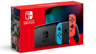任天堂改款現有 Switch 主機,電池續航更持久,還順便推了新色 Joy-Cons