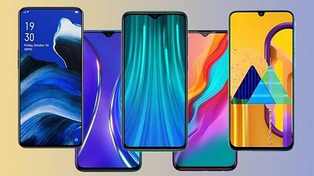 Smartphone rilis November 2019. (HiTekno.com)