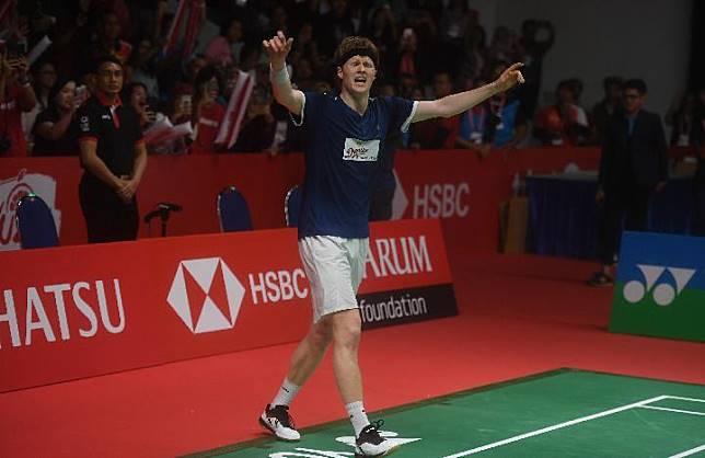 Kejutan Indonesia Masters 2019, Anders Antonsen Juara