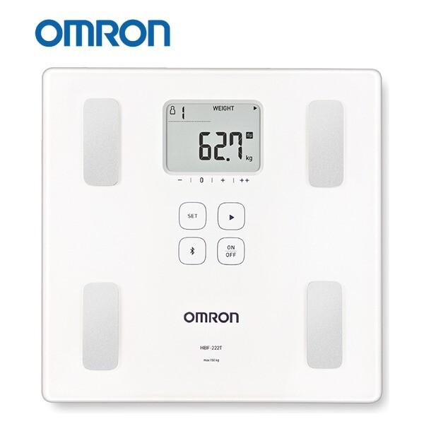 【康諾健康生活】歐姆龍OMRON 藍芽體重體脂肪計 HBF-222T